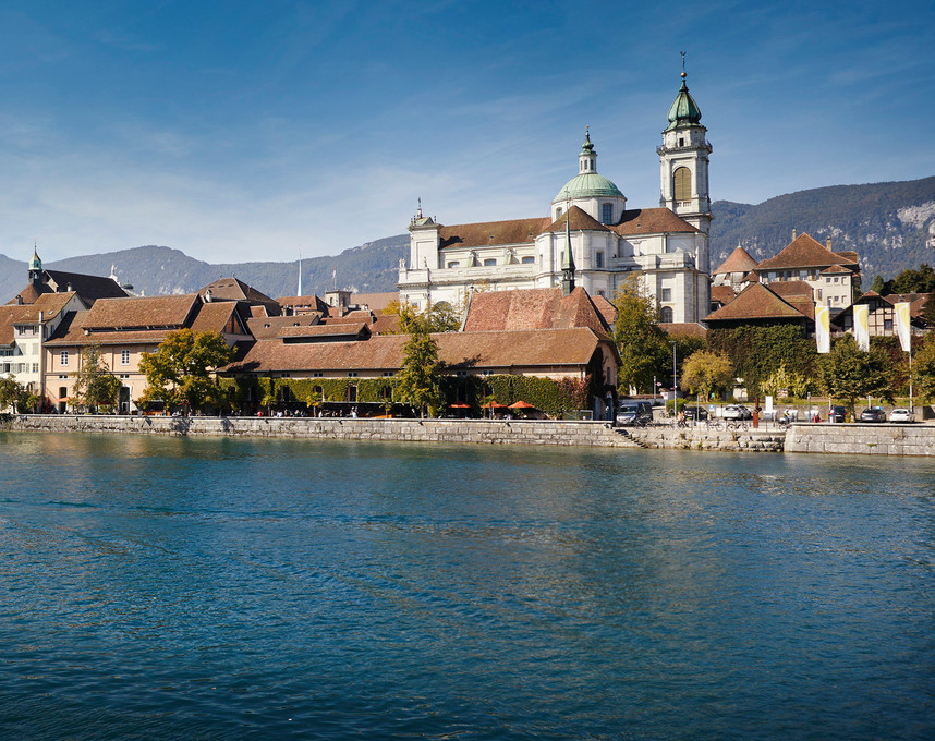 Aare Silhouette Solothurn