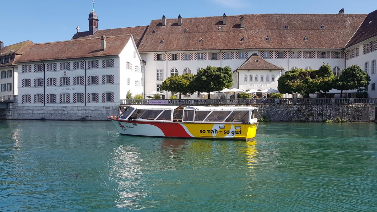 Öufi Boot Solothurn
